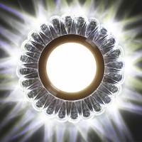 Встраиваемый точечный светильник с LED подсветкой GLAMUR MR1640, 4200К