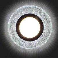 Встраиваемый точечный светильник с LED подсветкой GLAMUR MR1670, 4200К