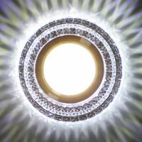 Встраиваемый точечный светильник с LED подсветкой GLAMUR MR1680, 4200К