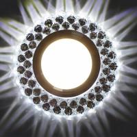 Встраиваемый точечный светильник с LED подсветкой GLAMUR MR1690, 4200К