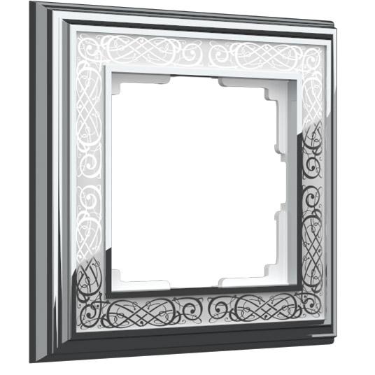 Palacio Gracia хром/белый Материал: металл
