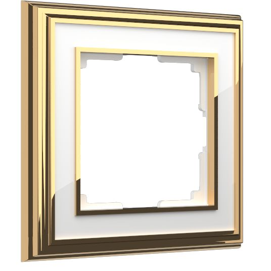 Palacio золото/белый. Материал: металл